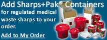 Order Sharps Disposal By Mail